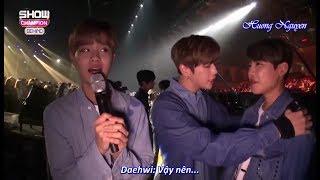 Download [Vietsub] Lee Daehwi's message to Sunmi, HyunAh, Wannable (170905 Wanna One Show Champions) Video