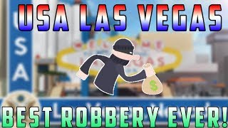 Download Roblox USA Las Vegas | Best Robbery Ever!? Video