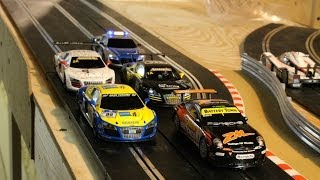 Download Scalextric Slot Car Crashes and Close Calls Video