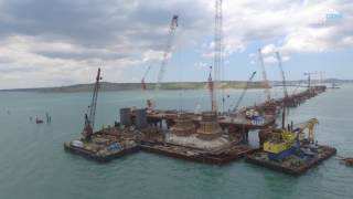 Download Строительство Крымского моста. Июнь 2017. Video