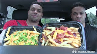 Download Wendy's Baconator Fries vs Ghost Fries Taste Test @hodgetwins Video
