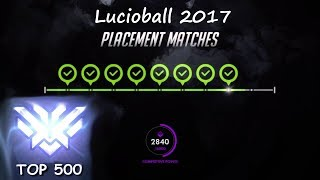 Download Top 500 Lucioball Player - Lucio ball 2017 Overwatch Video
