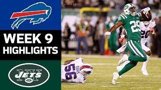 Download Bills vs. Jets | NFL Week 9 Game Highlights Video