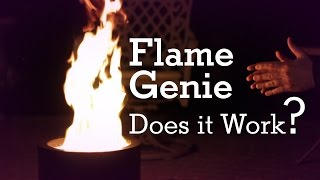 Download Flame Genie Smokeless Fire Pit - Does it Really Work? Video