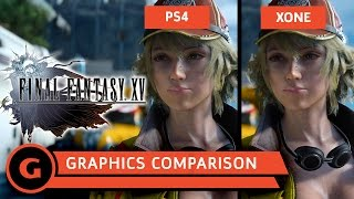 Download Final Fantasy XV - Graphics Comparison Video