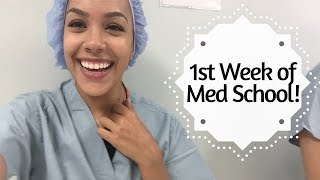 Download FIRST WEEK OF MED SCHOOL- A day in the life! Video