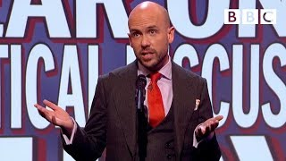 Download Things you wouldn't hear on a political discussion show | Mock the Week - BBC Video