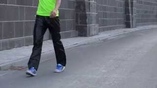 Download Shiny starray trackies nylon polyamid glänzende Sporthosen Video