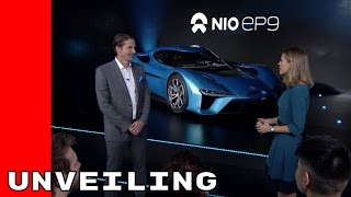 Download NextEV NIO EP9 With 1341 Horsepower Unveiling Video