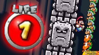 Download I Attempted To Beat Mario Maker 2...WITHOUT TAKING DAMAGE!!! Video
