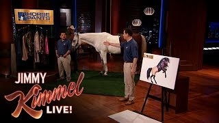 Download Jimmy Kimmel and Guillermo Pitch Horse Pants on Shark Tank Video