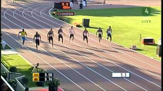 Download Top 10 fastest 100m runners of all time (men) Video