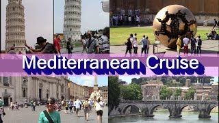 Download Western Mediterranean CRUISE/NCL NORWEGIAN EPIC CRUISE; from Rome, Italy: port tour - ROME & more Video