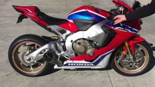 Download 2017 Honda CBR1000RR SP2 Stock vs Yoshimura Alpha T slip-on Video