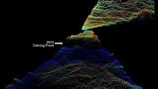 Download NASA Views Laser Landscapes of Helheim Glacier Video