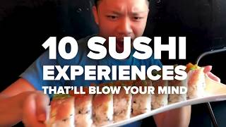 Download 10 Sushi Experiences That You Have To Try Video