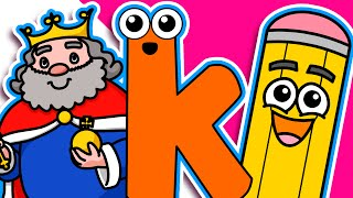 Download ″King Starts with K″ | Level 1 Lower Case ″k″ | Early Childood Education, Teach Autistic Children Video