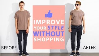Download How To Improve Your Style Without Buying New Clothes | Men's Fashion Tips Video