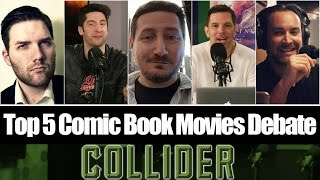 Download Top 5 Comic Book Movies Debate With Guest Chris Stuckmann - Collider Movie Talk Video
