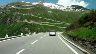 Download Driving in the swiss alps/ Switzerland/ 07.2013/ FullHD Video