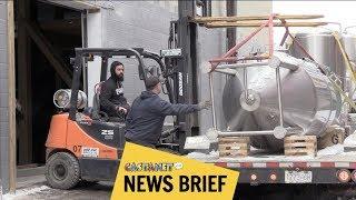 Download Sneak peek at new brewery Video