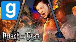 Download Gmod ATTACK ON TITAN! (Gmod Funny Moments) Video