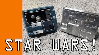 Download CNC Machining a Star Wars X-Wing Fighter Chest Plate! WW125 Video