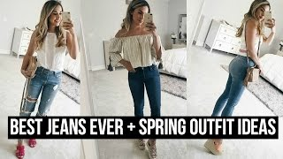 Download THE BEST JEANS EVER + HOW TO STYLE SPRING OUTFITS! Video