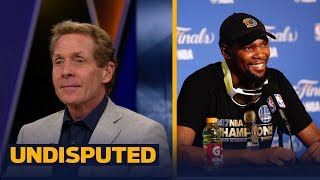 Download Warriors star Kevin Durant had a message for Skip Bayless on YouTube | UNDISPUTED Video