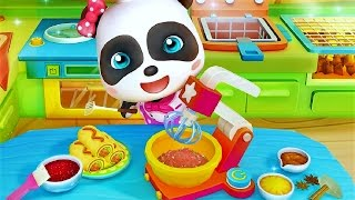 Download Little Panda Restaurant | Baby Panda Fun Cooking Game Video