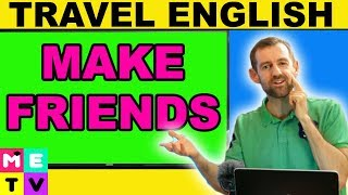 Download English For Making Friends (While Traveling) Video