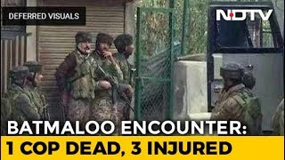Download Policeman Killed As Encounter Breaks Out In Srinagar, Gunfight Going On Video