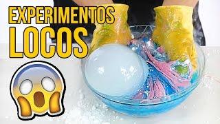 Download MIRA LO QUE SUCEDE SI MEZCLAS HIELO SECO CON SLIME... INCREÍBLE Video
