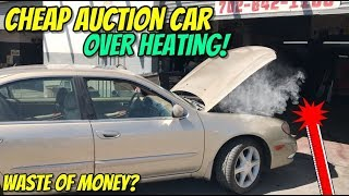 Download MORE PROBLEMS THAN I THOUGHT! $325 CHEAP AUCTION CAR NEEDS WORK Video