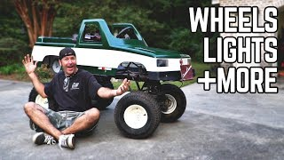 Download Monster Truck Kart Transformation | New Wheels/Tires, Fixed Paint! Video