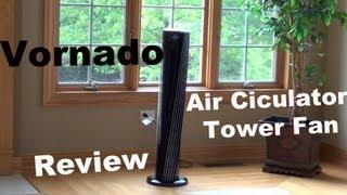 Download Vornado V-Flow Review | Large Tower Air Circulator | Fan Review | Model 184 & 153 Video