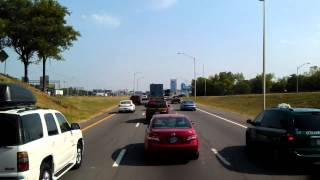 Download Traffic Jam on Interstate 24 East as we head to Nashville, Tennessee Video