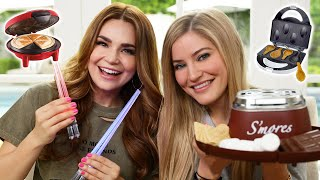 Download TESTING EVEN MORE FUN KITCHEN GADGETS w/ iJustine! Part 3 Video