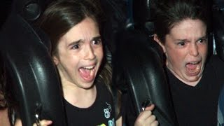 Download WHO HAS THE BEST ROLLER COASTER FACE? Video