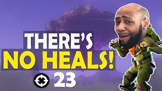 Download THERE'S NO HEALS! 23 KILLS INSANE SOLO GAME | FUNNY GAME -(Fortnite Battle Royale) Video