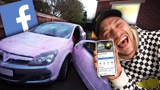 Download Destroying A Car I Purchased From The Facebook Marketplace.. Video