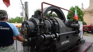 Download National Gas Engine 40 HP - start up , operation + details Video