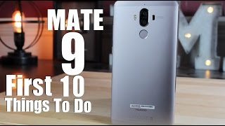 Download Huawei Mate 9: First 10 Things To Do! Video