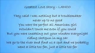 Download Greatest Love Story - LANCO Lyrics Video