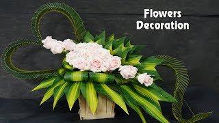 Download How To MAKE BASIC Arrange,Wedding Decor ,ROSE Flower,Teachers' Day? 94 Video