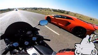 Download CARRERAS A TODA VELOCIDAD #1 | MOTOS VS AUTOS Video