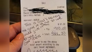 Download Pregnant Server Who Got $900 Tip From Generous Customer Cried Tears Of Joy Video