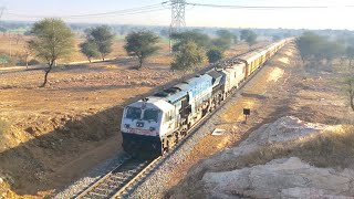 Download Diverted Trains : Electric Locomotive Visit For The First Time In Jaipur   Diverted Trains At NWR.. Video