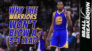 Download Why The Warriors WON'T BLOW A 3-1 LEAD Video