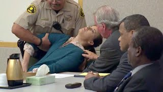 Download Defendant collapses in court after guilty verdict Video